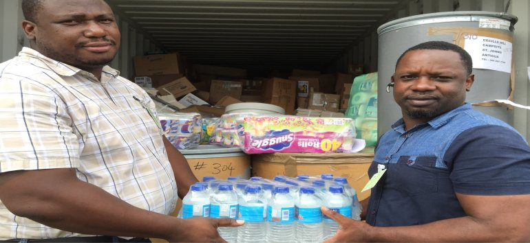 United Caribbean Trust partnering with The Living Room send a container to Antigus