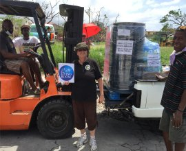 Distribution of Sawyer PointOne Water Filtration Systems into the Kalinago district of Dominica