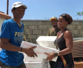 United Caribbean Trust working with Urtheroot bringing disaster relief for Dominica