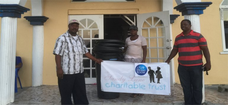 The Living Room partnering with United Caribbean Trust supported by Sandy Lane Charitable Trust assisting with Caribbean Hurricane Relief